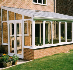tunnel glazing conservatory